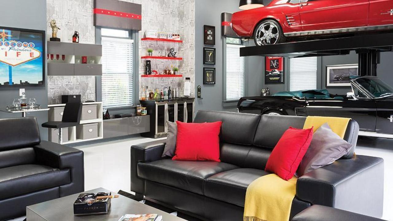 What Can You Do In Your Garage Man Cave?