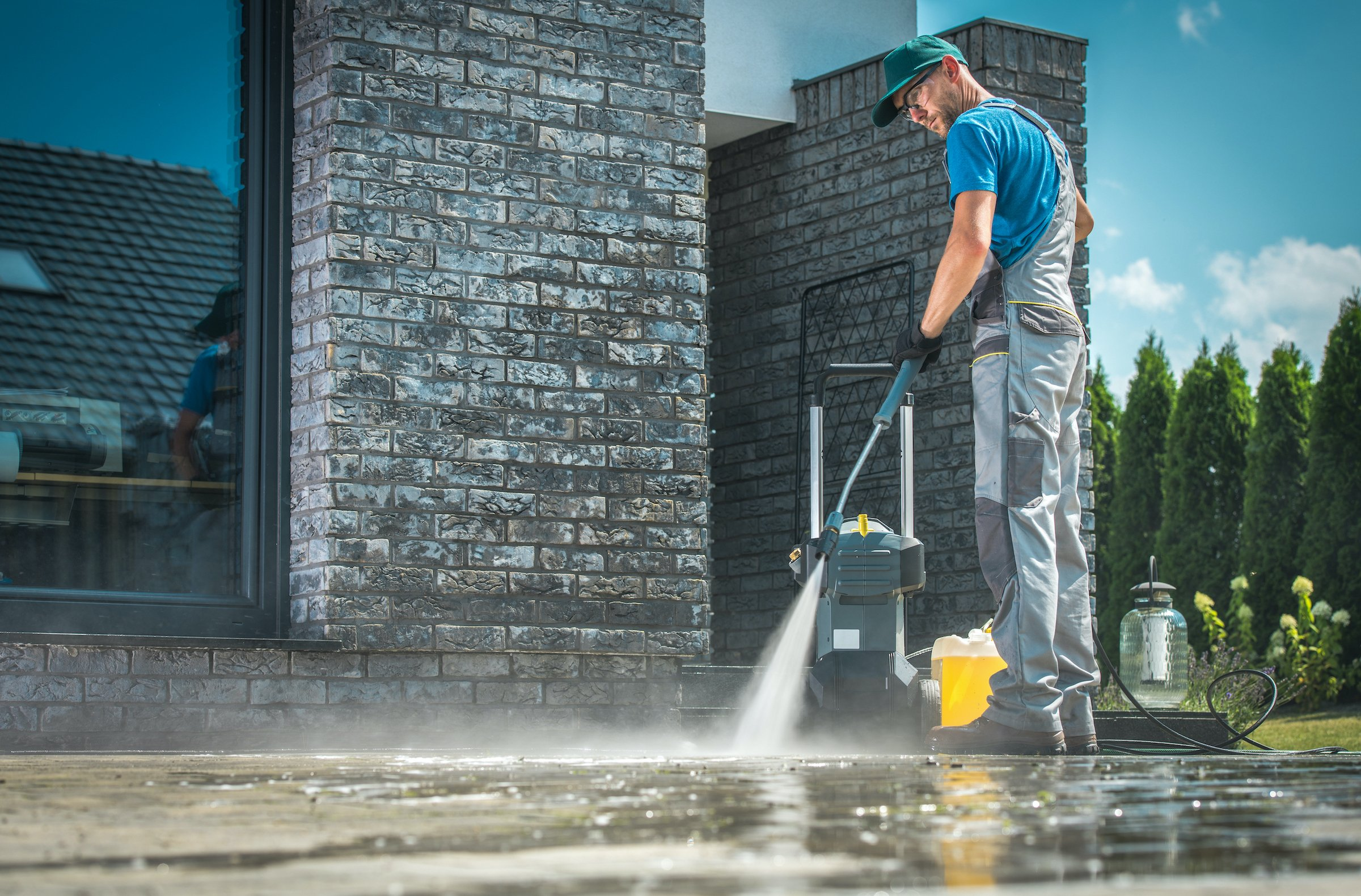 What are the benefits of power washing?